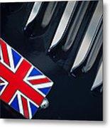 1951 Jaguar Proteus C-type British Emblem Metal Print by Jill Reger