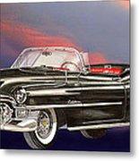 1953  Cadillac El Dorardo Convertible Metal Print by Jack Pumphrey