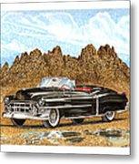 1953 Cadillac Eldorado Biarritz Metal Print by Jack Pumphrey