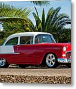 1955 Chevrolet 210 Metal Print by Jill Reger