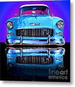1955 Chevy Bel Air Metal Print by Jim Carrell