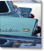 1956 Chevrolet Belair Nomad Rear End Metal Print by Jill Reger