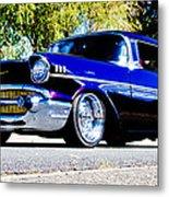 1957 Chevrolet Bel Air Metal Print by Phil 'motography' Clark