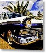 1957 Ford Custom Metal Print by motography aka Phil Clark