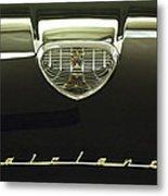 1958 Ford Fairlane 500 Victoria Hood Ornament Metal Print by Jill Reger