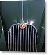 1959 Jaguar Xk150 Dhc 5d23301 Metal Print by Wingsdomain Art and Photography