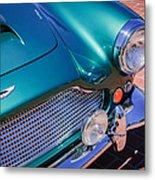 1960 Aston Martin Db4 Series II Grille Metal Print by Jill Reger