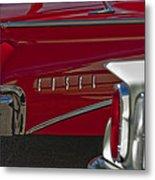 1960 Edsel Taillight Metal Print by Jill Reger