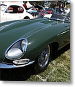 1961 Jaguar Xke Roadster 5d23323 Metal Print by Wingsdomain Art and Photography