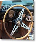 1961 Jaguar Xke Roadster 5d23325 Metal Print by Wingsdomain Art and Photography