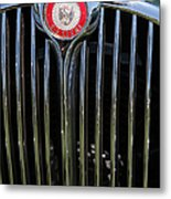 1962 Jaguar Mark II 5d23329 Metal Print by Wingsdomain Art and Photography