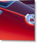 1963 Chevrolet Corvette Split Window Metal Print by Jill Reger