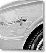 1963 Ford Falcon Sprint Side Emblem Metal Print by Jill Reger