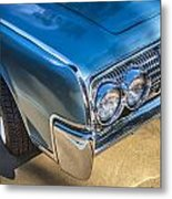 1964 Lincoln Continental Convertible  Metal Print by Rich Franco