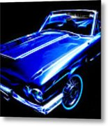 1964 Thunderbird Metal Print by Phil 'motography' Clark