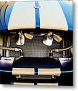 1965 Shelby Cobra Grille Metal Print by Jill Reger