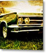 1966 Chrysler 300 Metal Print by Phil 'motography' Clark