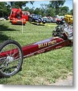 1967 Billy Lynch's Top Fuel Dragster Metal Print by John Telfer
