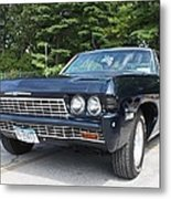 1968 Chevrolet Impala Sedan Metal Print by John Telfer