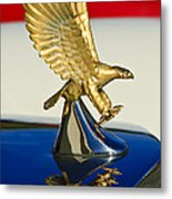 1986 Zimmer Golden Spirit Hood Ornament Metal Print by Jill Reger