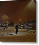 1997-my First Snowy Winter Metal Print by Thu Nguyen