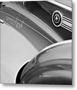 1941 Packard 1907 Custom Eight One-eighty Lebaron Sport Brougham Side Emblems Metal Print by Jill Reger