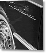 1951 Ford Crestliner Emblem - Wheel Metal Print by Jill Reger