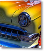 1954 Chevy Bel Air Custom Hot Rod Metal Print by David Patterson