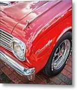 1963 Ford Falcon Sprint Convertible  Metal Print by Rich Franco