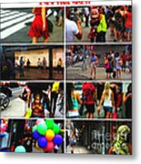 A New York Minute Metal Print by Nishanth Gopinathan