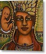 Angel Baby Metal Print by Marie Howell Gallery