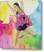 Ballet Dancer Metal Print by Corporate Art Task Force