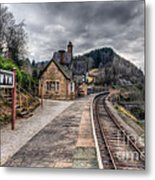 Berwyn Railway Station Metal Print by Adrian Evans