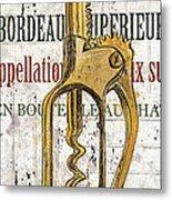 Bordeaux Blanc 2 Metal Print by Debbie DeWitt