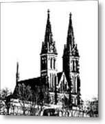 Chapter Church Of St Peter And Paul Metal Print by Michal Boubin
