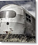 Classic Airstream Caravan Metal Print by Ian Hufton