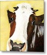Cow No. 0650 Metal Print by Carol McCarty