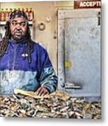 Crabby  Metal Print by JC Findley