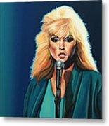 Deborah Harry Or Blondie Metal Print by Paul Meijering