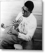 Dizzy Gillespie (1917-1993) Metal Print by Granger