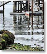 Dockside Metal Print by JC Findley