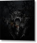 Empire Of Ashes Metal Print by David Fox