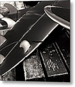 Fins And Boards Metal Print by Ron Regalado