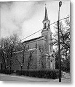 former st josephs catholic church in Forget Saskatchewan Canada Metal Print by Joe Fox