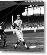 Francis J. Lefty O'doul Metal Print by Retro Images Archive