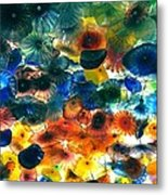 Glass Flowers Metal Print by Ernesto Cinquepalmi