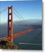 Golden Gate Bridge Metal Print by Melanie Viola