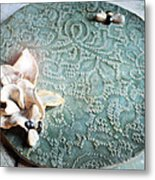 2 Good 2 Bee True Metal Print by Amanda  Sanford