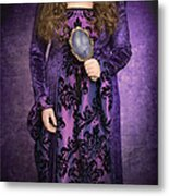 Gothic Woman Metal Print by Amanda And Christopher Elwell