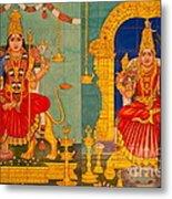 Hindu God Metal Print by Niphon Chanthana